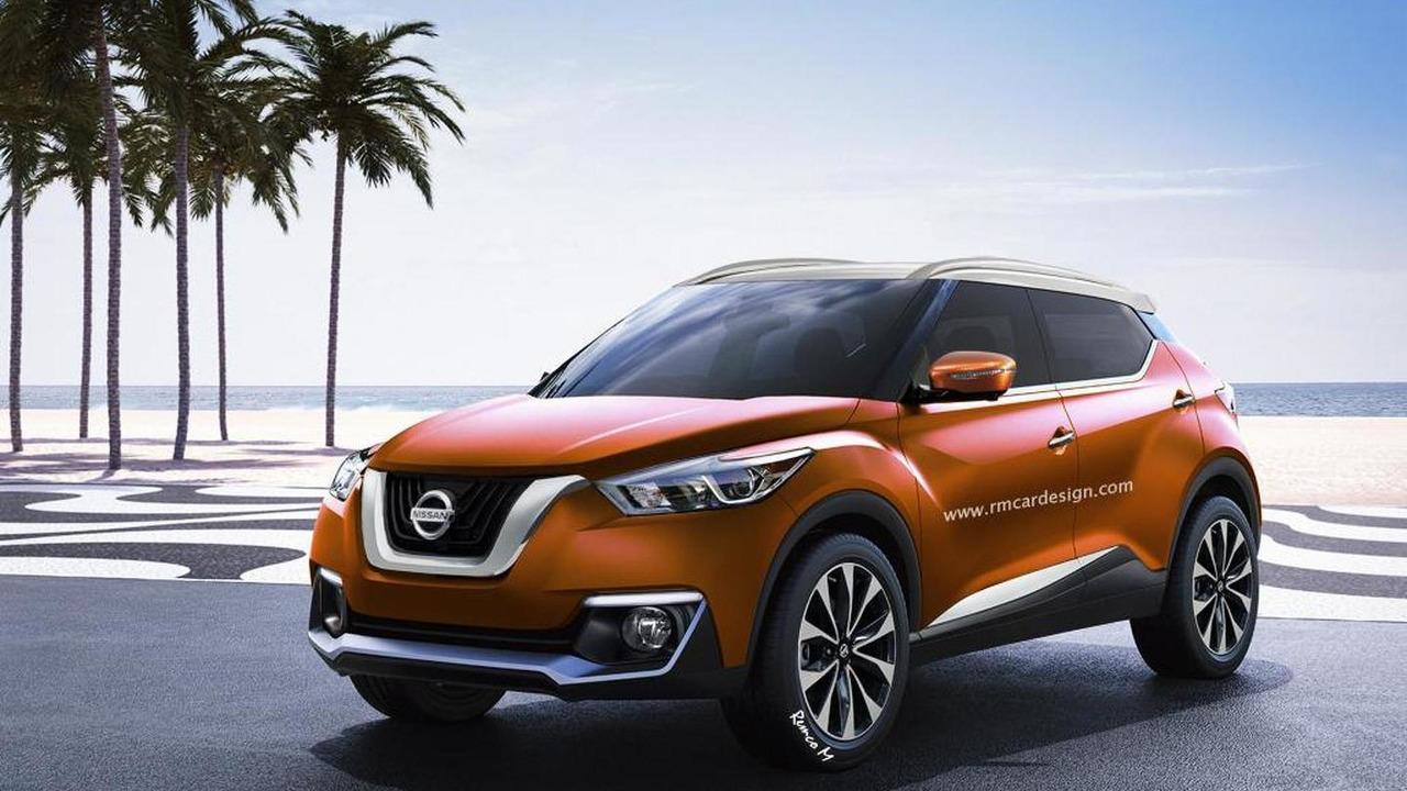 Nissan Juke rendering / RM Design