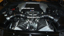 BMW F10 M5 engine photos