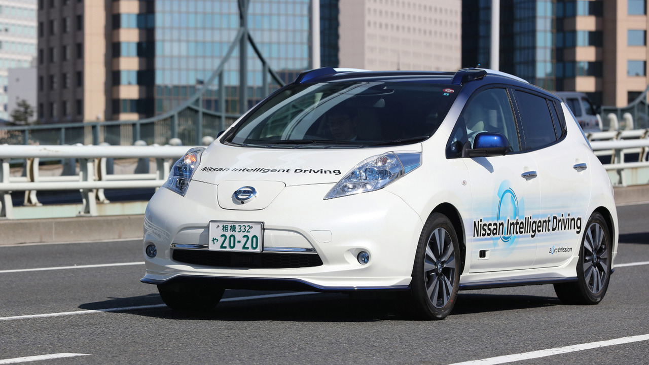 Nissan Leaf Intelligent Driving prototype