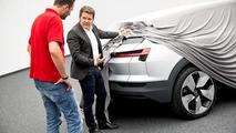 Audi e-tron quattro teaser image