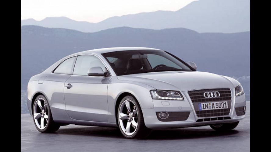 Neue Coupé-Varianten: Audi A5 mit zwei weiteren Motoren