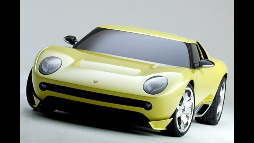 Lamborghini Miura: Comeback des ultraschnellen Sportlers