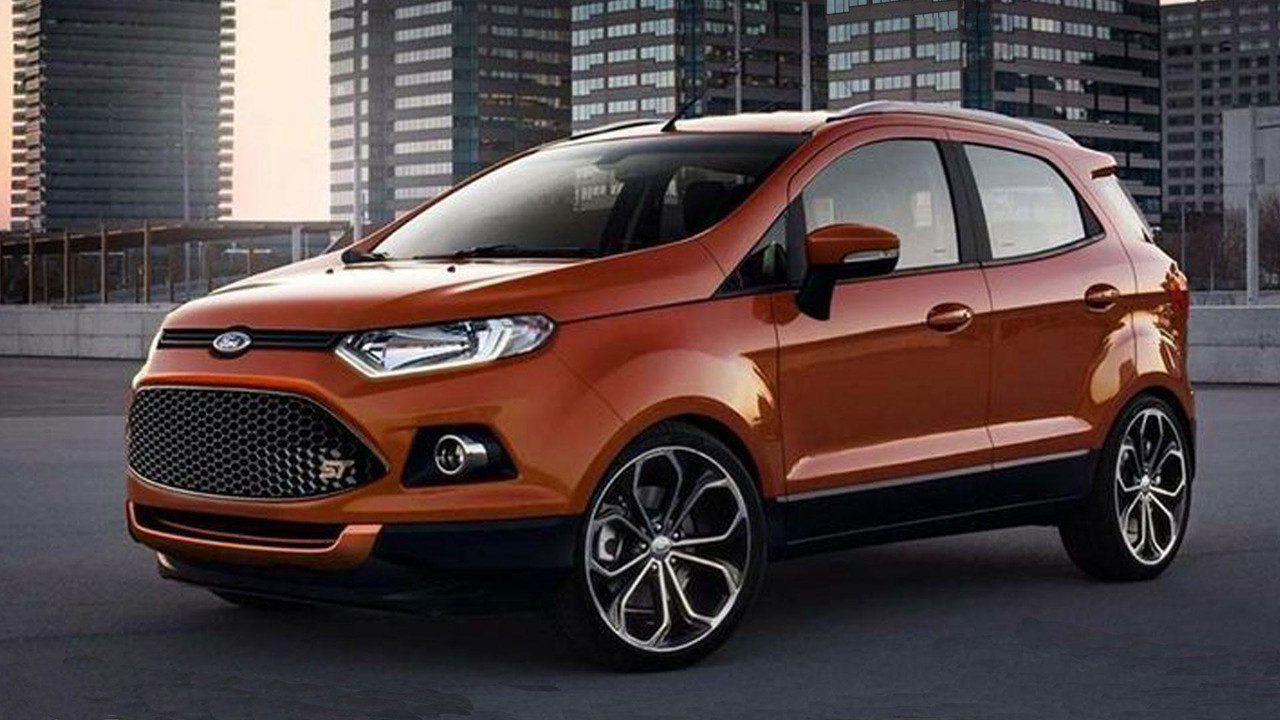 Ford Ecosport ST - Projeção