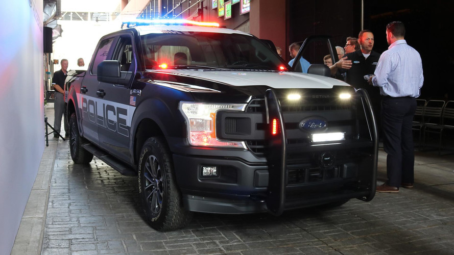 Ford F-150 Police Pickup Ready to Respond