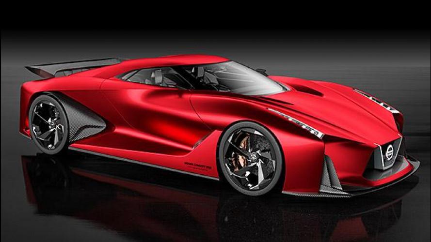 Nissan Concept 2020 Vision Gran Turismo, evoluzione rossa
