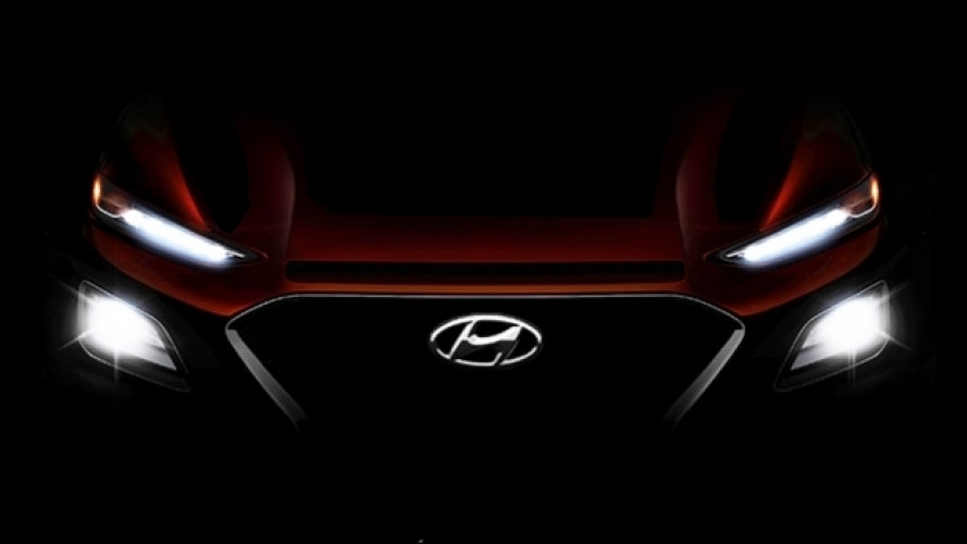 Hyundai Kona, il secondo teaser mostra i fari a LED