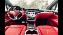 Tesla Model X, 25.000 dollari per gli interni in stile Bentley