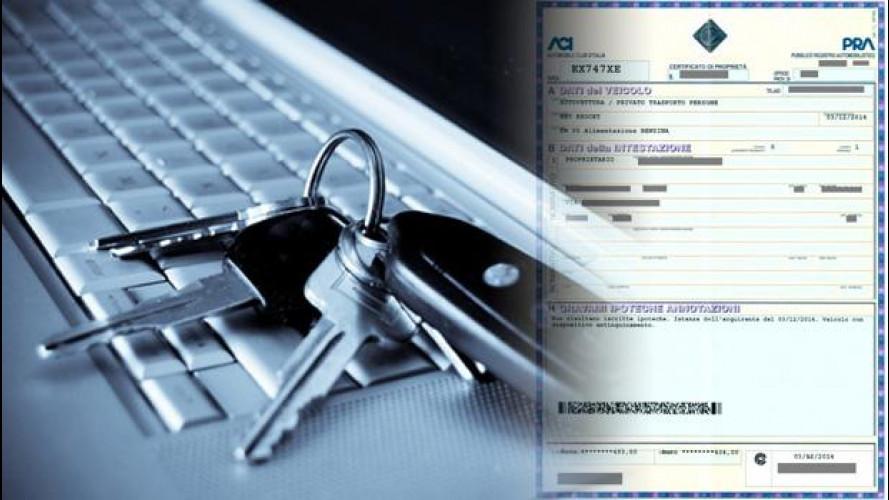 Certificato di Proprietà, dal 5 ottobre sarà digitale