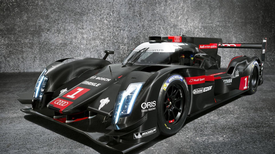 2014 Audi R18 e-tron quattro fully revealed with several updates