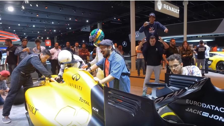 Vídeos: desafios Mannequin Challenge no Salão do Automóvel