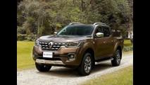 Esta é a versão de produção da Renault Alaskan - veja fotos