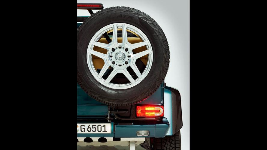 Mercedes-AMG G65 4x4² Cabrio geliyor