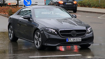 Photos espion Mercedes Classe E Coupé et Cabrio 2017