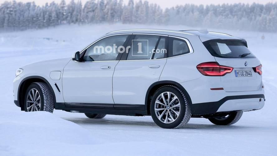 2019 BMW iX3 casus fotoğraf
