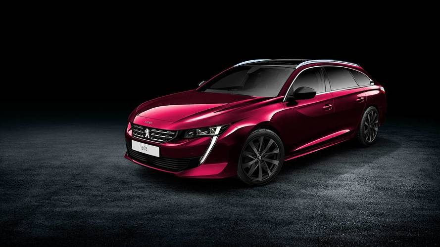 Peugeot 508 SW'nin teaser'ı geldi