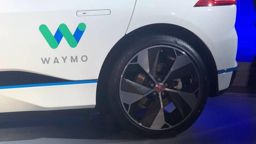 Waymo / Jaguar I-Pace autônomo