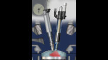 Iniettore piezo elettrico per applicazioni GDI