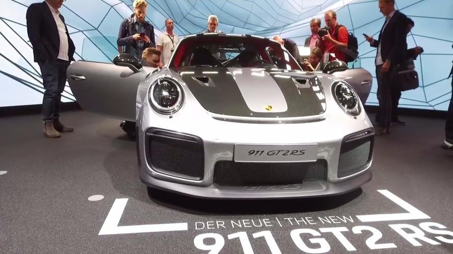 VIDÉO - La Porsche 911 GT2 RS fait un tabac à Francfort