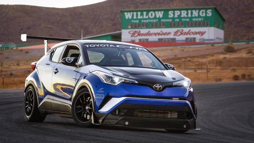 Toyota, 600 bg'lik C-HR'ın Nürburgring rekoru kıracağından emin
