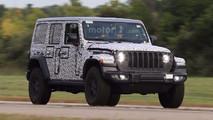 Jeep Wrangler Unlimited Rubicon Euro spy photo