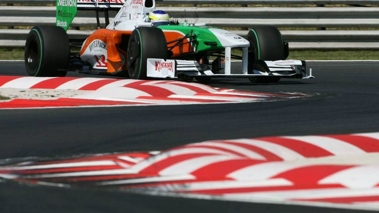 24.07.2009 Giancarlo Fisichella (ITA), Force India F1 Team, Hungarian Grand Prix