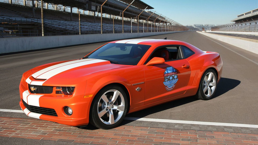 2010 Chevrolet Camaro SS Indianapolis 500 Pace Car Unveiled