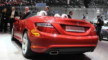 2012 Mercedes-Benz SLK 250 BlueEfficiency live in Geneva - 03.03.2011
