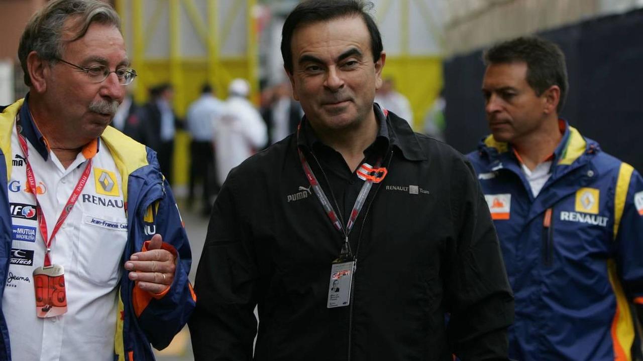 Carlos Ghosn (FRA) Renault President - Formula 1 World Championship, Rd 6, Monaco Grand Prix, 25.05.2008 Monte Carlo, Monaco