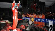 Fernando Alonso (ESP), Scuderia Ferrari - Formula 1 World Championship, Rd 17, Korean Grand Prix, parc ferme, 23.10.2010 Yeongam, Korea