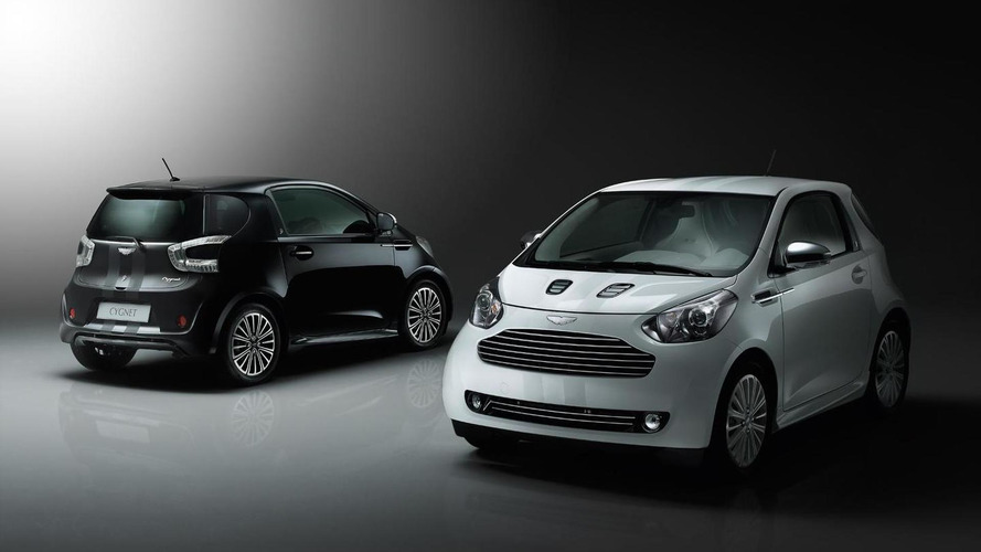 Aston Martin Cygnet EV coming in 2013 - report