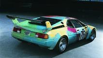 Andy Warhol (USA) 1979 BMW M1 Group 4 Race Version art car