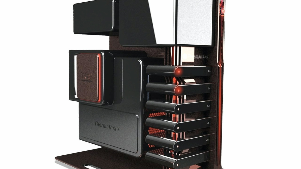 BMW Group DesignworksUSA: Design concept for a new Thermaltake gaming tower
