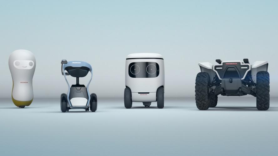 Honda, al CES 2018 debuttano nuovi robot intelligenti
