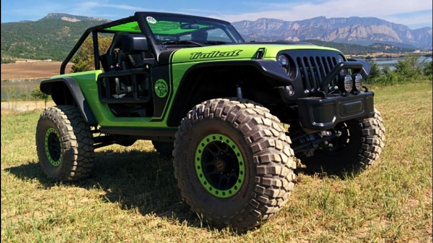 Jeep Trailcat, guidare un mostro