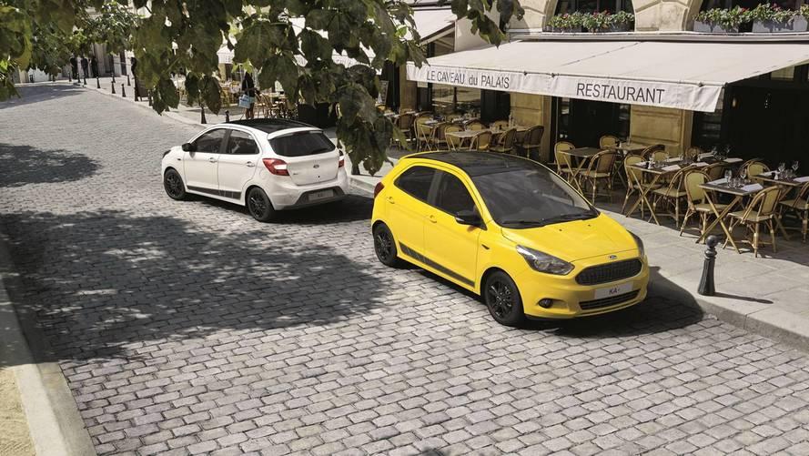 Ford Ka europeu ganha versão Colour Edition