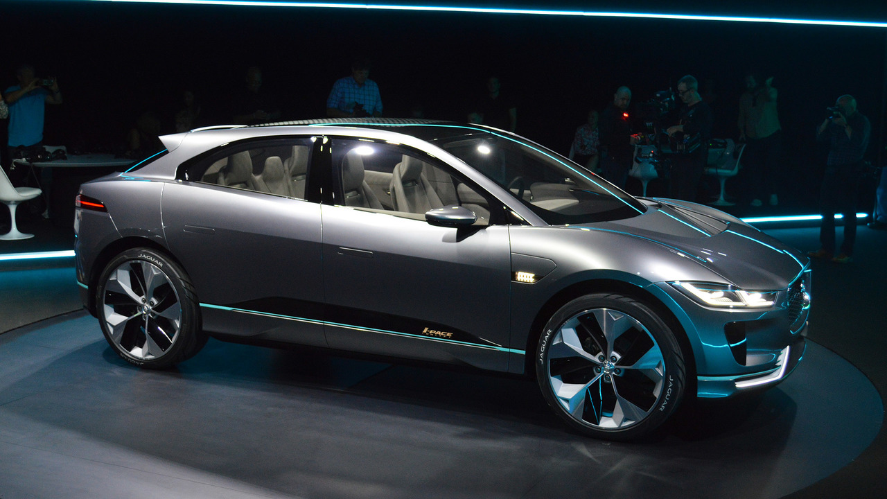 Jaguar I Pace Will Be Built In Austria