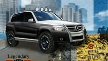 Mercedes-Benz GLK Four Corners Rock Crawler