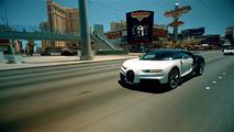 Bugatti Chiron desert testing