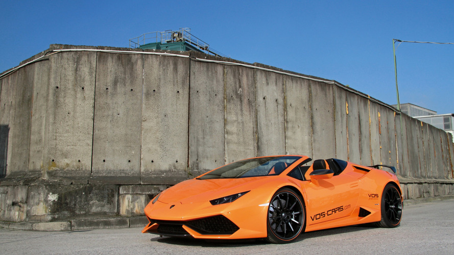 Lamborghini Huracan Spyder par Vision of Speed