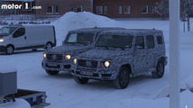 Mercedes-Benz G-Class Winter Spy Video
