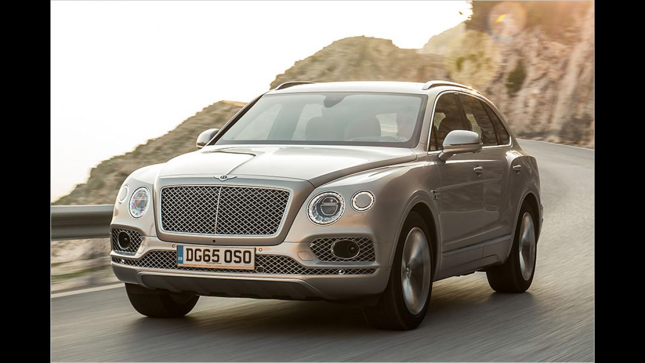 7. Platz: Bentley Bentayga W12