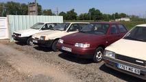 Fransa'da terkedilmiş bir Lada bayisi bulundu
