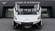 Wheelsandmore imzalı McLaren 570GT