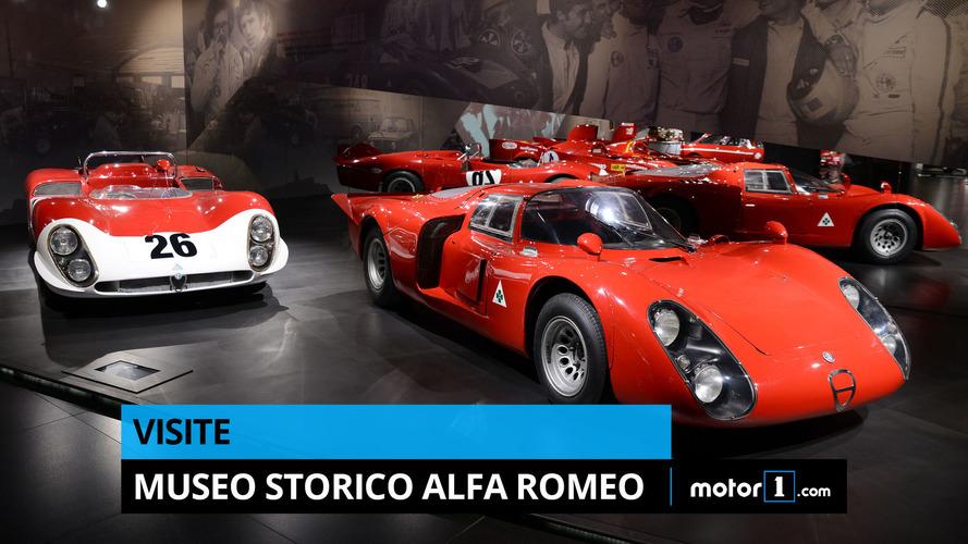 VIDÉO – Découvrez le Museo Storico d'Alfa Romeo à Arese