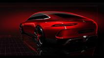 Premier teaser pour le Concept AMG GT 4 portes