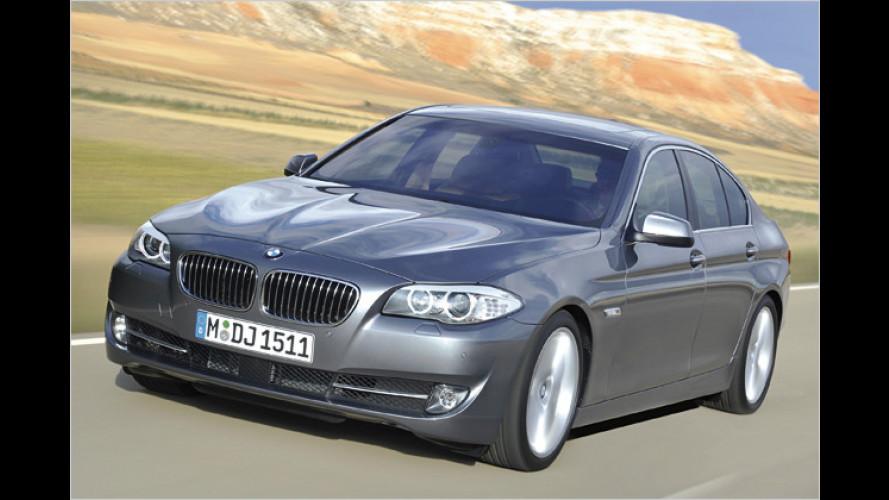 BMW 5er: Bayerns neue Meisterklasse kommt im März 2010