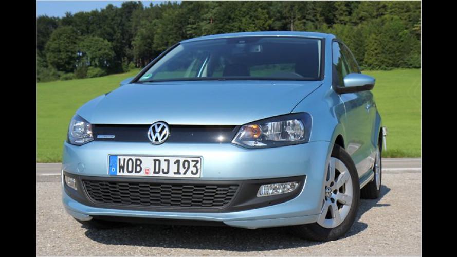 75 PS, die reichen: VW Polo BlueMotion mit Rekord-Diesel