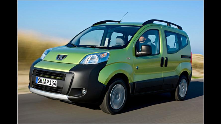 Peugeot Bipper Tepee: Jetzt kommt die Freizeitvariante doch