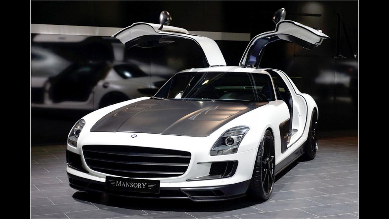 Mansory Mercedes SLS AMG