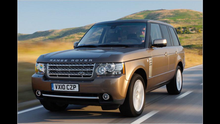 Der Landlord: Facegelifteter Range Rover mit neuem Diesel